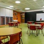 Nou espai per educació infantil al Col·legi Claret de Valls.